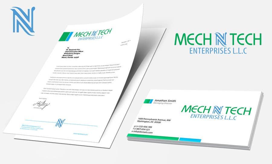 Kilpailutyö #12 kilpailussa Design a Logo for a company Mech N Tech Enterprises L.L.C