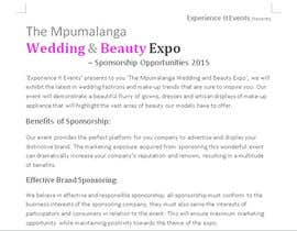 #8 untuk Content Writing for wedding and beauty expo oleh unavoidedspace