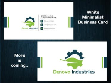 Logo Design Contest Entry #61 for Develop a Corporate Identity for Denovo Industries