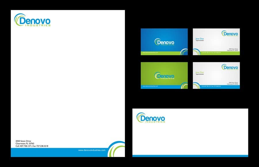 #64 for Develop a Corporate Identity for Denovo Industries by trying2w