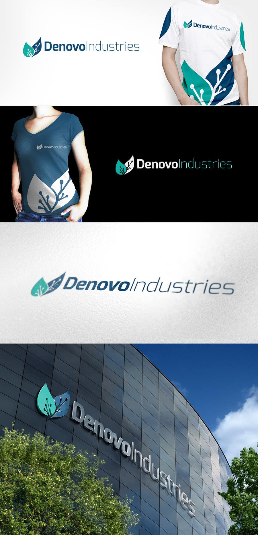 #1 for Develop a Corporate Identity for Denovo Industries by olivermxjp