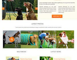 #10 for Build a Website for Service Dog Training Website af TemplateDigitale