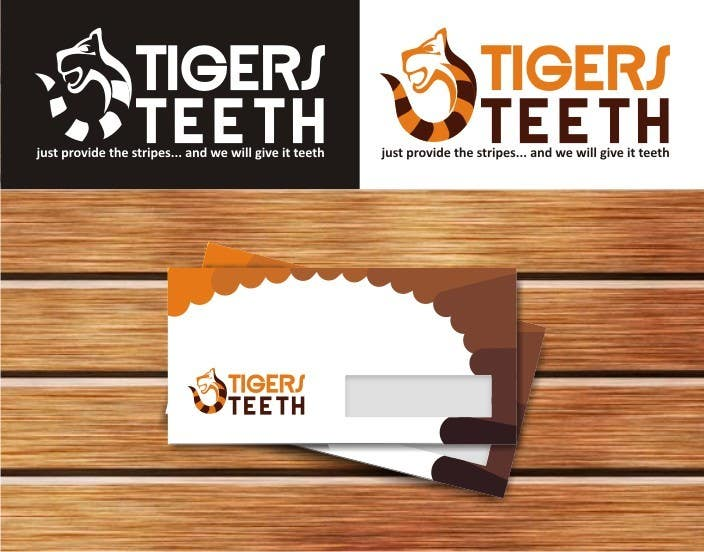 "Proposition n°24 du concours Design a Logo for ""TigersTeeth.com"""