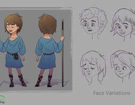 #6 for Character Concept Design af sudiptonaskar