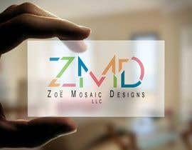 #22 cho Design a Logo for ZMD Zoe Mosaic Designs LLC bởi LincoF
