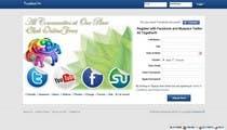 Graphic Design Natečajni vnos #1 za Graphic Design for Social Network Website sign up page