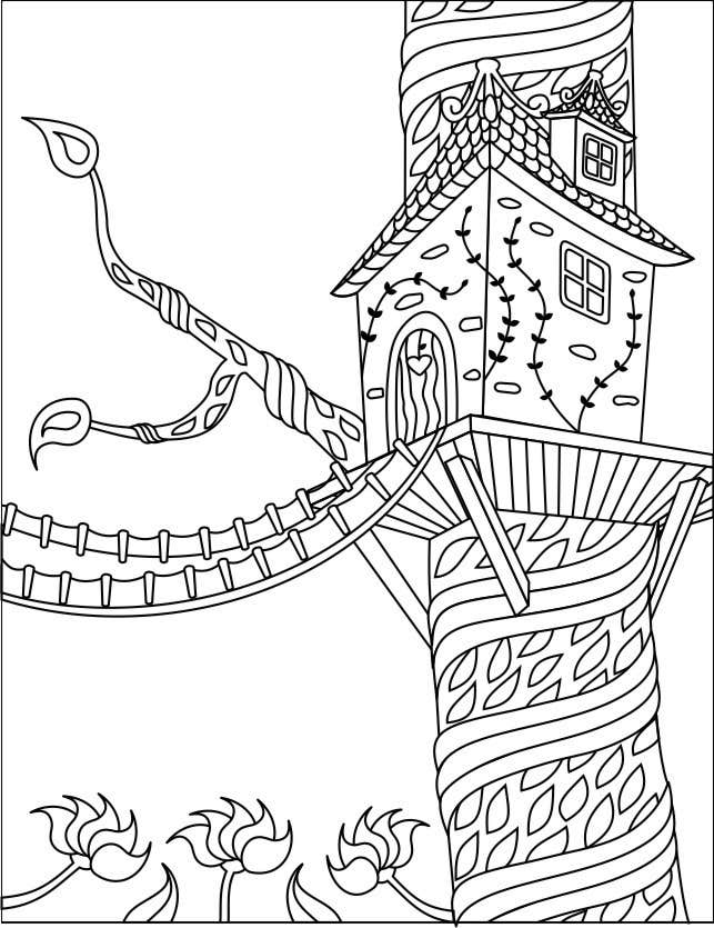 Konkurrenceindlæg #18 for A Coloring Book of Tree Houses