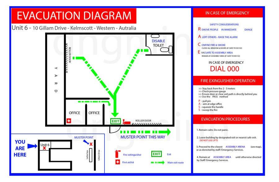 Penyertaan Peraduan #3 untuk emergency evacuation procedure