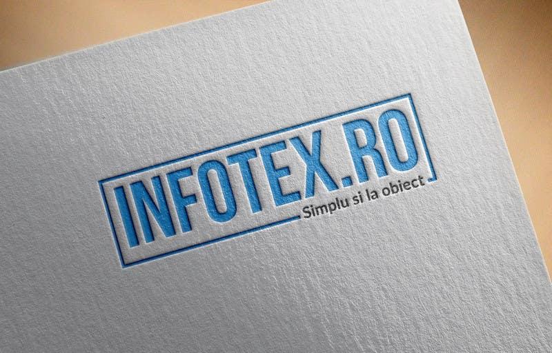 Bài tham dự cuộc thi #21 cho Design a Logo for new info portal INFOTEX.ro