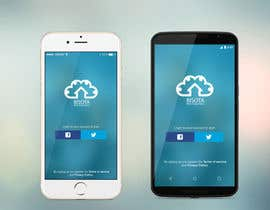 #3 untuk Cloud Drive App Screen Layout oleh xrevolation