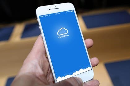 #6 untuk Cloud Drive App Screen Layout oleh ankisethiya