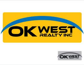 #16 para Logo Design for OK WEST Realty Inc. de meichuen