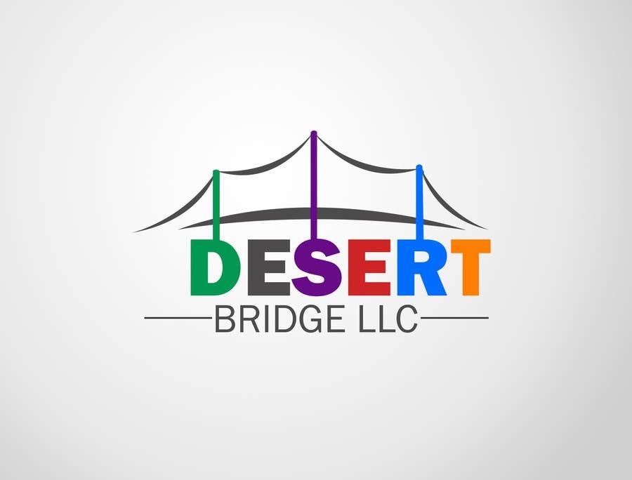 Kilpailutyö #11 kilpailussa Design a Logo for  Desert Bridge LLC