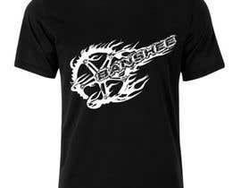 #11 para Motocross T-shirt por Panterabax