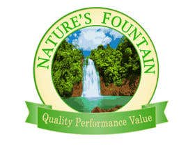 #13 for Design a Logo for Natures Fountain by angelazuaje