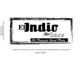 #2 untuk Design Modern and Clean label for Hot Sauce oleh Marilynmr