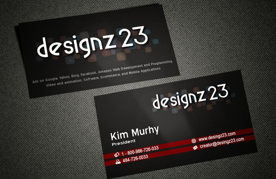 Kilpailutyö #39 kilpailussa Business Cards for marketing agency