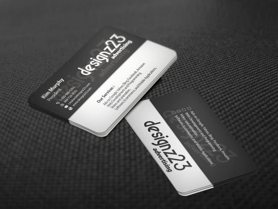 Kilpailutyö #170 kilpailussa Business Cards for marketing agency
