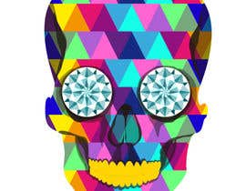 #10 untuk Create POP ART Skull With Diamond Eyes oleh crisshadesign