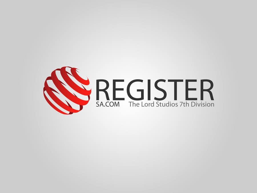 Penyertaan Peraduan #11 untuk Logo for register.sa.com
