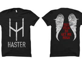 #7 for Fallen Angel - Haster Tshirt Design af nikolaipurpura