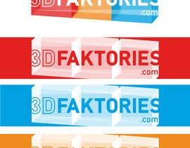 Nro 389 kilpailuun Design a Logo for 3Dfaktories.com käyttäjältä absolutelydesign