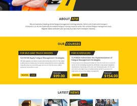 #4 para Design a Website Mockup: AFM por Dezign365web