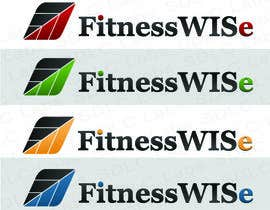 #80 for Design a Logo for FitnessWISe by chapter19vw