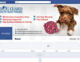 #25 untuk Design a Facebook Cover Graphic for Dog Business oleh silvi86