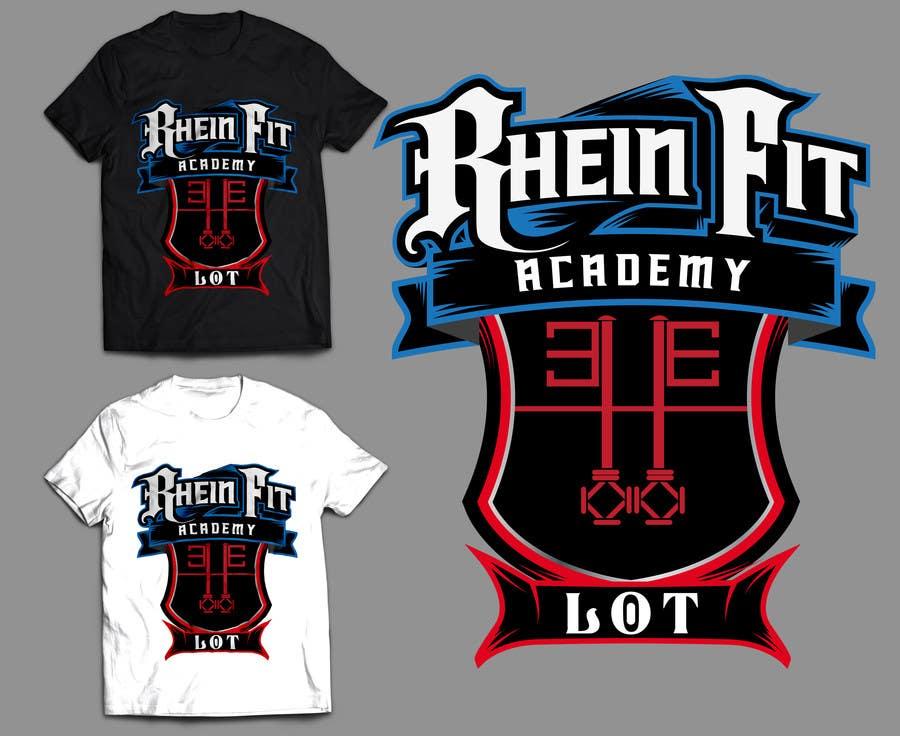 Penyertaan Peraduan #9 untuk Design a Logos for Rhein Fit Academy