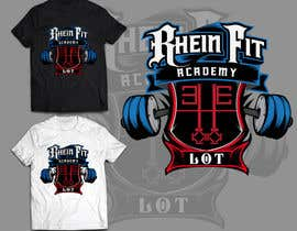 #39 cho Design a Logos for Rhein Fit Academy bởi kyriene