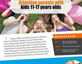 #7 cho Design a Flyer for the Young E-tailers workshop bởi Awadhesh321