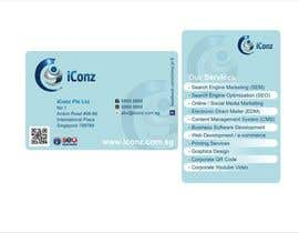 #12 para Design some Business Cards for iConz Pte Ltd por saliyachaminda