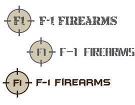 Arturios505 tarafından Design a Logo for F-1 Firearms için no 16