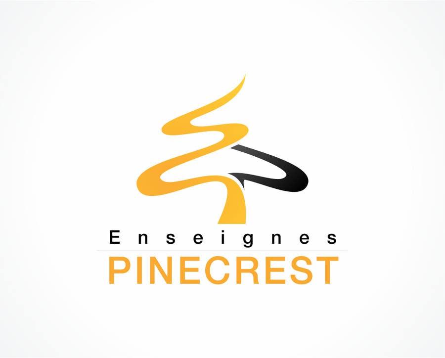 Конкурсная заявка №202 для Logo Enseignes Pinecrest