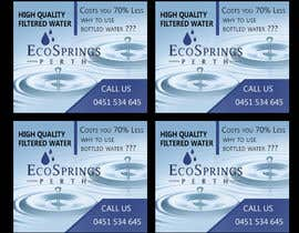 #9 cho Design an Advertisement for Eco Springs Perth bởi bluedartdesigner