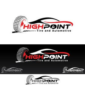 feroznadeem01 tarafından High Point Tire and Automotive Logo için no 73