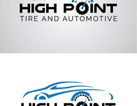 syrwebdevelopmen tarafından High Point Tire and Automotive Logo için no 48