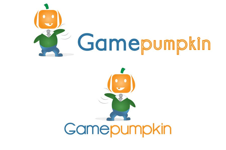 Penyertaan Peraduan #119 untuk Logo Design for GamePumpkin