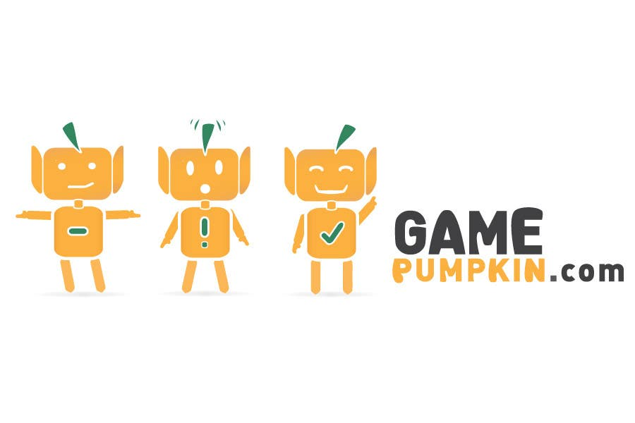Конкурсная заявка №122 для Logo Design for GamePumpkin