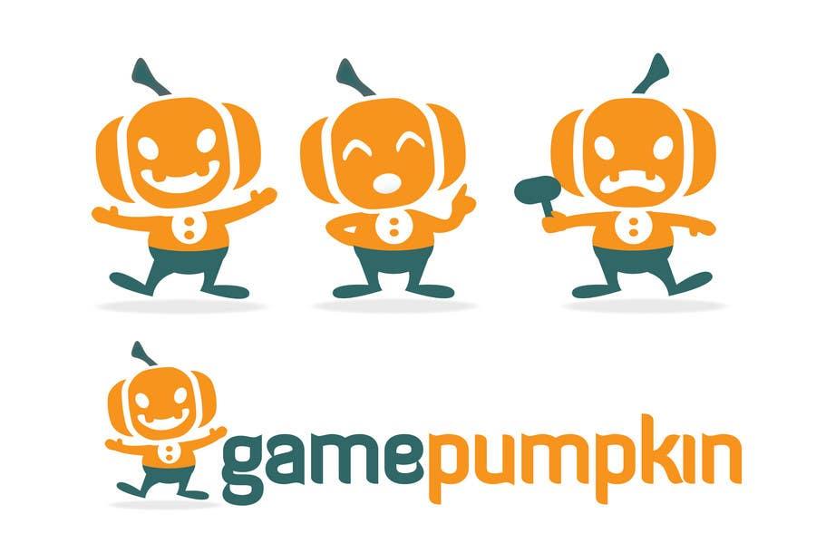 Penyertaan Peraduan #97 untuk Logo Design for GamePumpkin