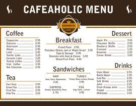 libellula86 tarafından Help me with designing a simple but effective cafe menu için no 5