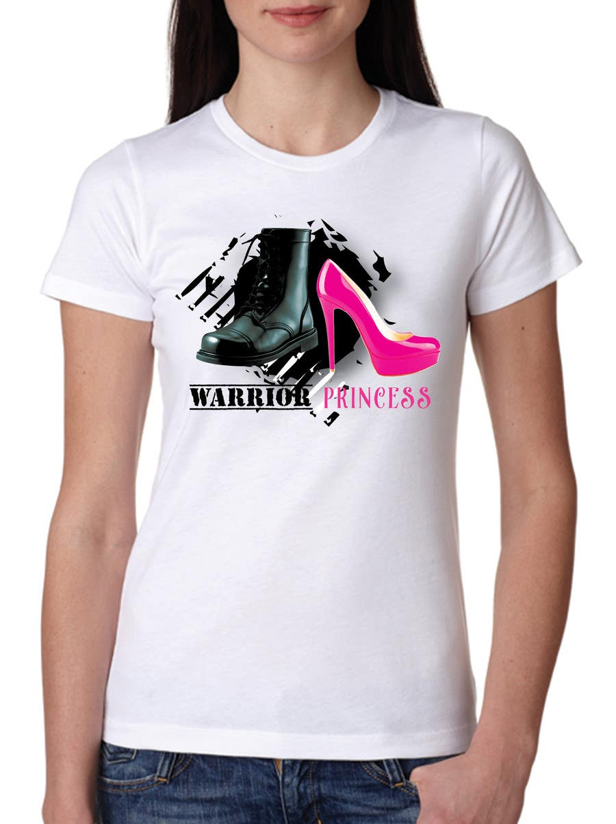 Inscrição nº 32 do Concurso para Design a T-Shirt for Warrior Princess