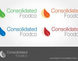 #80 per Logo Design for Consolidated Foodco da ron8