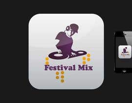 jogiraj tarafından Design Iphone App Icon for a Music Festival Playlist app için no 6