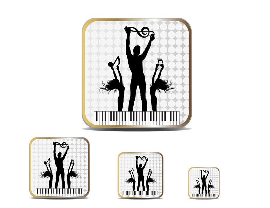 Bài tham dự cuộc thi #                                        38                                      cho                                         Design Iphone App Icon for a Music Festival Playlist app