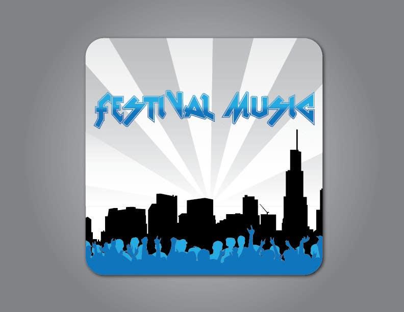 Bài tham dự cuộc thi #                                        13                                      cho                                         Design Iphone App Icon for a Music Festival Playlist app