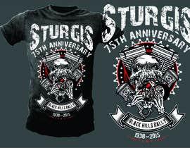 Nro 10 kilpailuun Design a T-Shirt for STURGIS 2015 käyttäjältä mj956