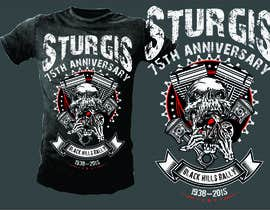 #10 cho Design a T-Shirt for STURGIS 2015 bởi mj956