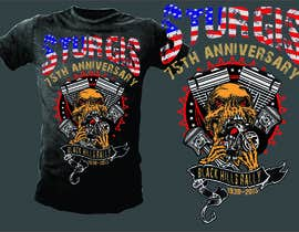 #32 cho Design a T-Shirt for STURGIS 2015 bởi mj956